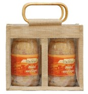 Jute bag for 2 jars x 2 kgs : Jars packing