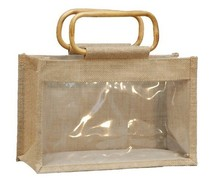 Jute bag for 3 jars x 1 kg without separations : Jars packing