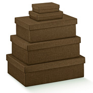 Brown Cardboard box : Gift boxes
