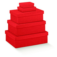 Red Cardboard box : Gift boxes