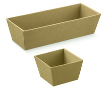 Paperboard basket : Trays, baskets