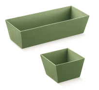 Corbeilles carton  : Trays, baskets