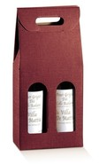 Burgundy Milan for 2 bottles : Bottles packaging