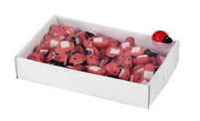 Lot de 70 coccinelles 1.5cm : Jars packing