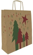 Kraft Bag « Christmas Natura » : Kraft - paper bag