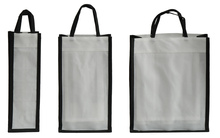 Reusable non-woven bottle's bag  : Promo