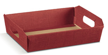 Corbeille carton 310x220x90mm : Trays, baskets