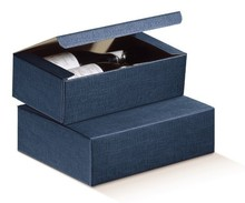 Blue Milan for 2 bottles  : Bottles packaging
