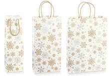 CRYSTAL Kraft Bag Collection 1, 2, 3 bottles : Bottles packaging and local products