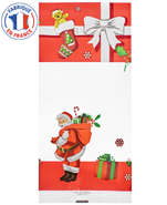 Pack of 100 Xmas Gift flat bags : Confectionery packaging, candy packaging