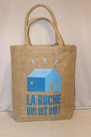 """Sac """"La Ruche Qui dit Oui !"""" souple : Bags"""