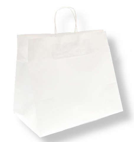 Sacs TRAITEUR poignée torsadée blancs : Bags