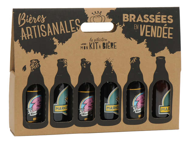 Emballages bières personnalisés : Bottles packaging and local products