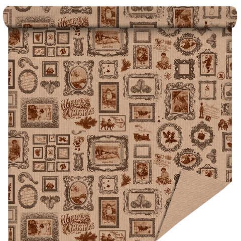 """Rouleau papier cadeau """"Noël Vintage"""" : Packaging accessories"""