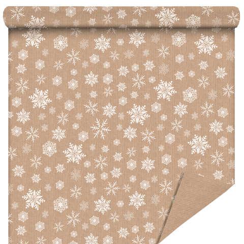"""Rouleau Papier cadeau """"Snow"""" : Packaging accessories"""