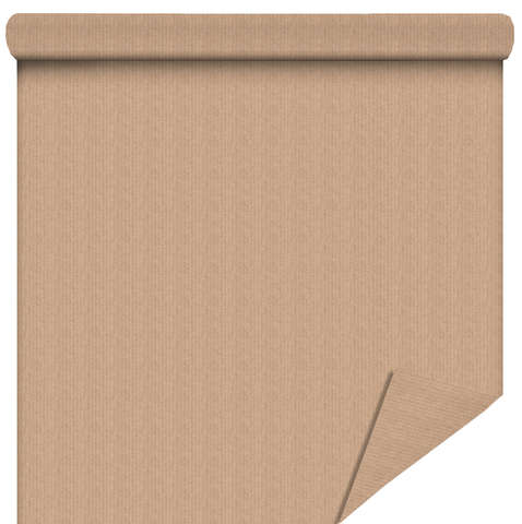 Rouleau papier cadeau Kraft naturel : Packaging accessories