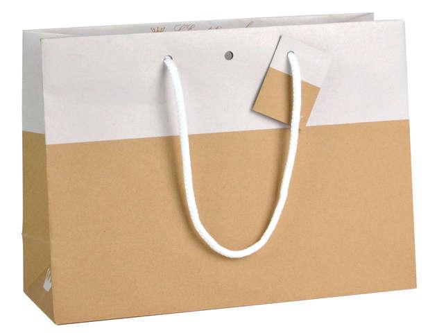 Sac Bicolore Chic WHITE : Bags