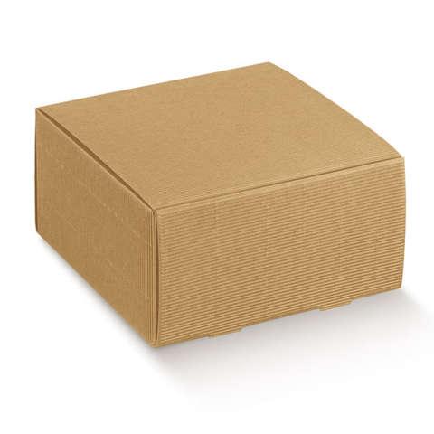 Boite en carton nature avec cannelures : Boxes