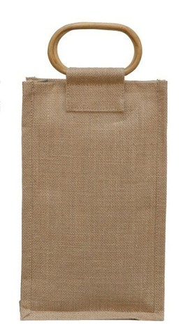 Jute bottle bag for 2 bottles 75 cl : Bottles packaging