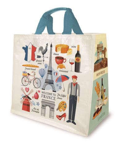 "Cabas 30 litres "" France "" : Bags"
