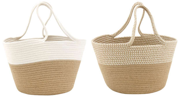 Fashion cotton and jute Shopping bag : Bags