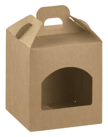 Cardboard boxe for 1 jar Height 100mm : Jars packing