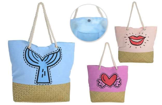 Lot de 3 sacs coton Fashion : Bags