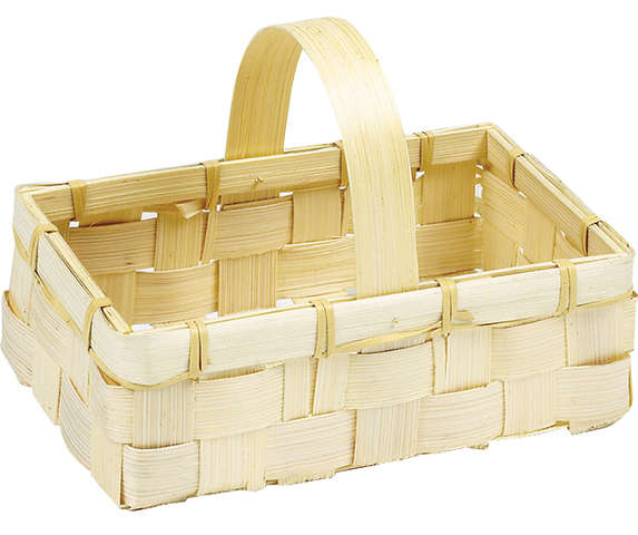 Panier bambou nature : Trays, baskets