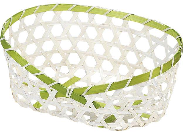 Corbeille bambou ovale  : Trays, baskets