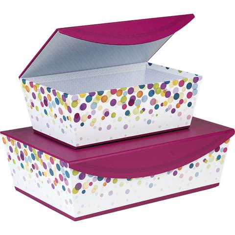Coffret carton Bulles fermeture aimantée : Boxes