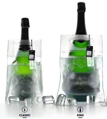 Icebag PRO VASK EVASE transparent : Bottles packaging