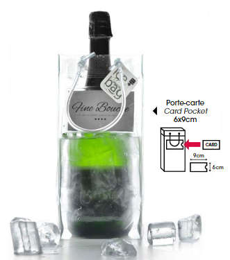 Icebag PRO BUSINESS + porte carte : Bottles packaging