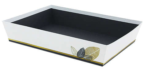 Corbeille carton ISIS : Trays, baskets