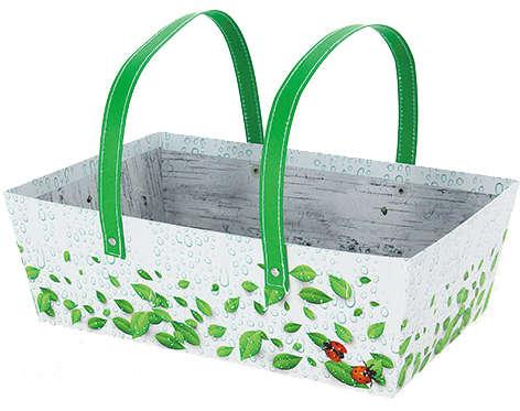 Panier carton NATURA : Trays, baskets
