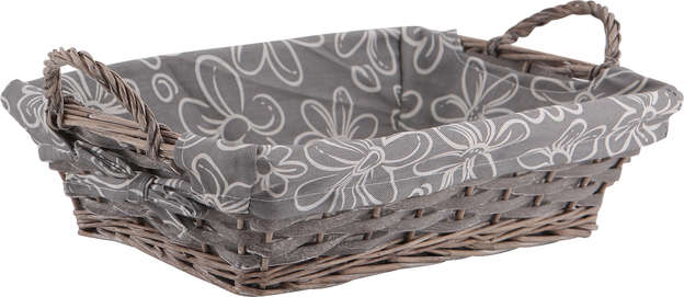 Corbeille bois gris : Trays, baskets