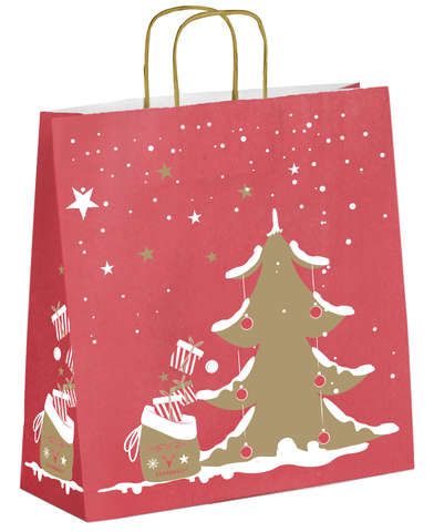 Sac kraft Noël - Magie de Noël : Bags