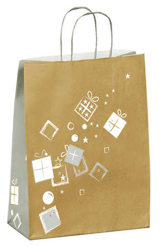 Sacs kraft Noël - Kdo en fête : Bags