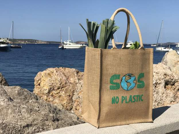 No Plastic - 100% BIODEGRADABLE BAG : Bags