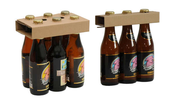 Collerette / Porte bouteille supérieur pour 33cl : Bottles packaging
