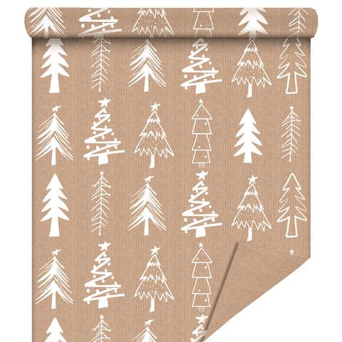"Rouleau papier cadeau ""Sapin Blanc"" : Packaging accessories"