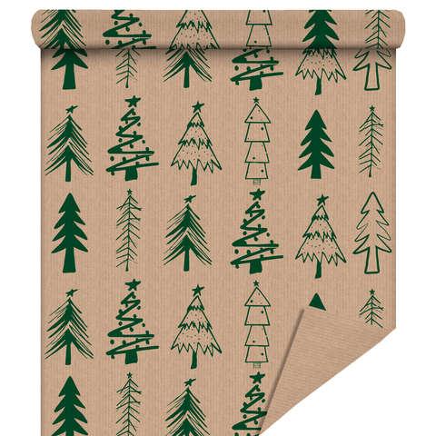 "Rouleau papier cadeau ""Sapin Vert"" : Packaging accessories"
