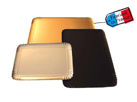 Plateau traiteur Or - Noir - Argent : Boxes