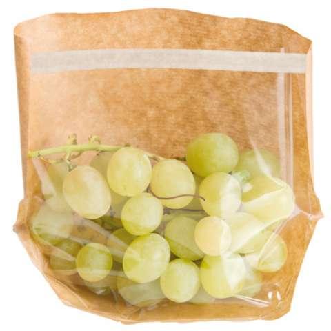 Sachets avec base et fenêtre auto fermeture 'turtle pack' : Small bags