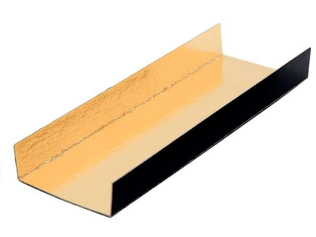 Fond plié Or/Noir 380 Gr/m² : Boxes