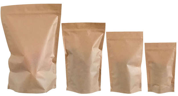Hermetic packets without window : Small bags