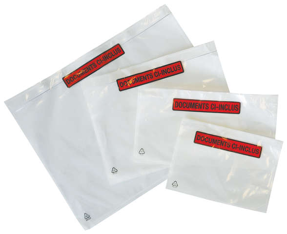 Pochette adhésive porte-document : Consumable supplies