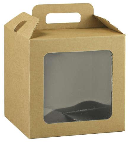 Valisette carton avec fenêtre biodégradable : Boxes