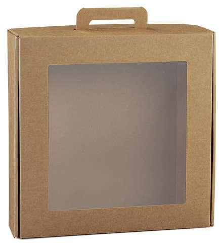 Valisette GOURMET avec fenêtre biodégradable : Boxes
