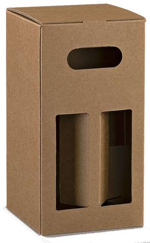 Cube pour 4 bouteilles de bière : Bottles packaging