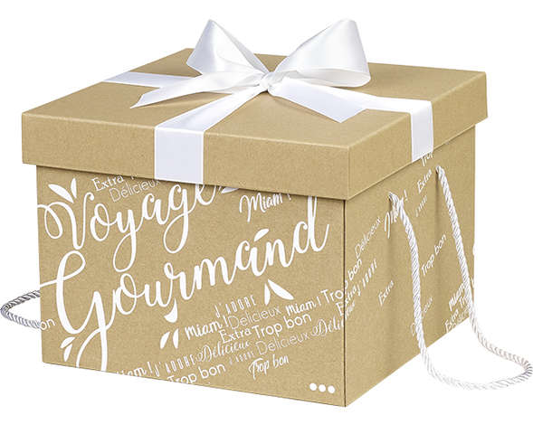 Boîte cadeau en carton : Boxes